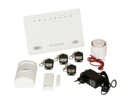 Evolveo Alarmex, bezdrátový GSM alarm s ochranou proti sabotáži - II. jakost