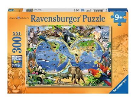 Ravensburger sestavljanka svet divjih živali