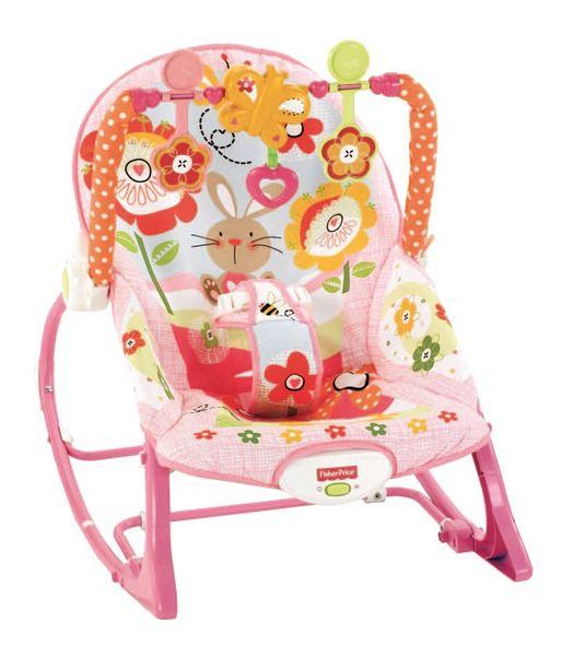 Fisher-Price Sedátko od miminka po batole růžové