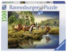 Ravensburger sestavljanka divji konji