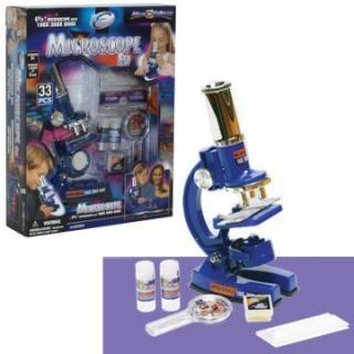 Mikroskop 33 set, baterijski