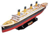 CubicFun Puzzle 3D Titanic – 113 dielikov