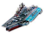 CubicFun Puzzle 3D Lietadlová loď - 103 dielikov
