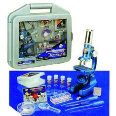 mikroskop 62 set v kovčku
