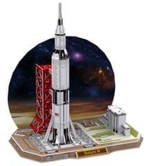 CubicFun Puzzle 3D Raketa Saturn V - 68 dielikov
