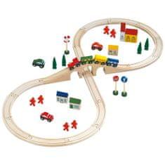 Bino železnica z dodatki, osmica
