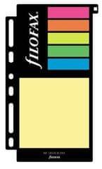 Náhradní náplň do diáře Filofax Osobní barevné lepicí papírky