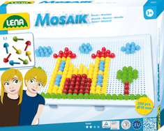 """LENA Mozaik """"Pötyi"""" Képkirakós Játék 200 db Tűvel Kreatív játék"""