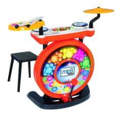 Simba Elektronski bobni s stolčkom, vhod za MP3