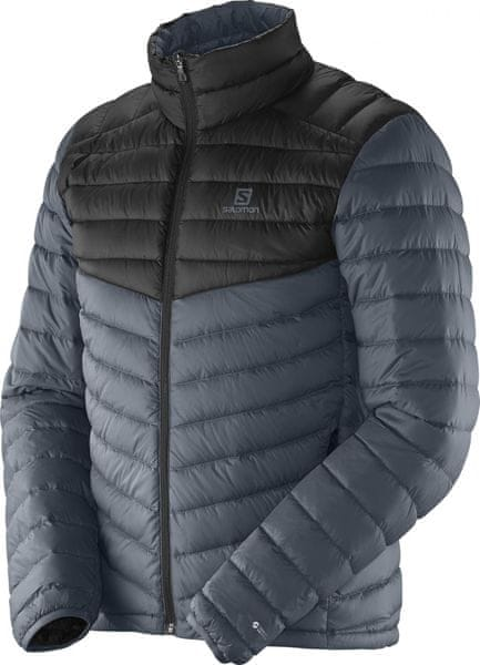 Salomon Halo Down Jacket M Dark Cloud/Black M