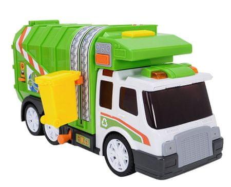 Dickie Action Series smetarski tovornjak, 39 cm