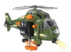 DICKIE Action Series Katonai helikopter, 41 cm