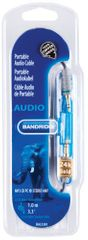 Bandridge audi 3.5mm stereo avdio kabel 1.0m (BAL3301)
