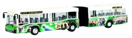 Dickie avtobus City Express, zelen