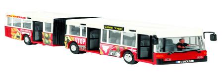 Dickie avtobus City Express, rdeč