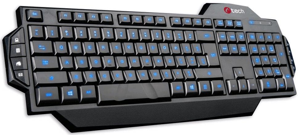 C-Tech Kore, černá (GKB-11-BL)