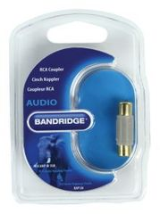 Bandridge RCA mono avdio coupler (BAP120)