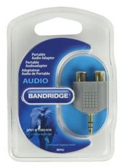 Bandridge 3.5mm M - 2xRCA F avdio adapter (BAP432)