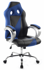 uredska stolica VRT.HY-8127, plavo-crna
