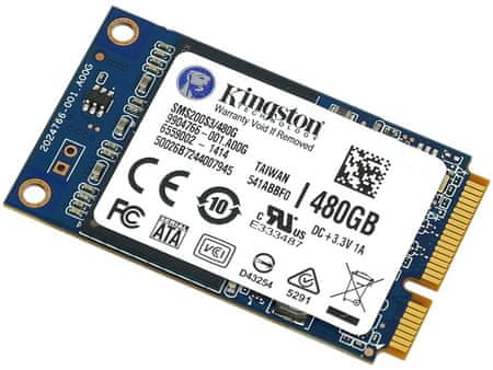 Kingston 1,8 SSD disk 480 GB (SMS200S3/480G)