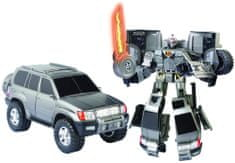 Happy Well Road Bot Toyota Land Cruiser Transformers robot, 1:18