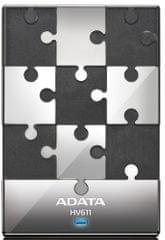 "Adata HV611 1TB / Externí / USB 3.0 / 2,5"" / Black (AHV611-1TU3-CBK)"