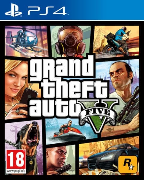 Rockstar Grand Theft Auto V (GTA 5) / PS4