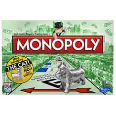 HASBRO Monopoly társasjáték új figurával Társasjáték