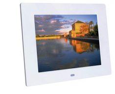 Braun Phototechnik digitalni foto zaslon DigiFrame 850, bel