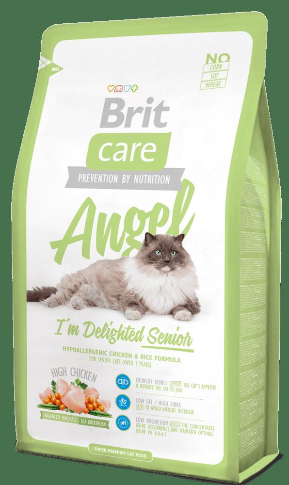 Brit Care Cat Angel I´m Delighted Senior 2 kg - Expirace 9/2021