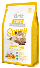 Brit sucha karma dla kota Care Cat Sunny I´ve Beautiful Hair - 7 kg