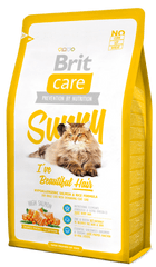 Brit Care Cat Sunny I´ve Beautiful Hair mačja hrana za lepšo dlako,2 kg
