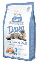 Brit Care Cat Daisy I´ve to control my Weight hrana za mačke s prekomerno težo, 2 kg