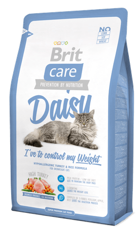 Brit sucha karma dla kota Care Cat Daisy I´ve to control my Weight - 7 kg