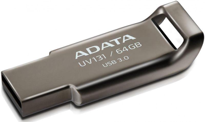 Adata UV131 64GB kovový (AUV131-64G-RGY)