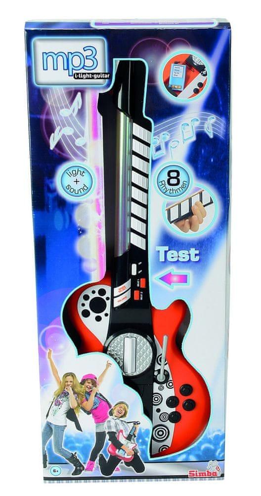 Simba Elektronická kytara i pro MP3