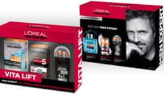 L'Oréal Zestaw Men Expert Krem Vitalift 5 50 ml + Woda po goleniu 100 ml + Sztyft Carbon Protect 50 ml