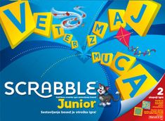 Mattel igra Scrabble Junior Original Y9739
