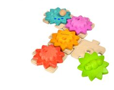 Plan Toys przekładnie puzzle - standardowe