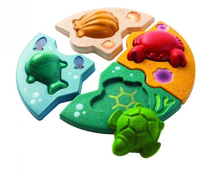 Plan Toys Puzzle - Mořský život