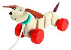 Plan Toys Szczęśliwy szczeniak na sznurku
