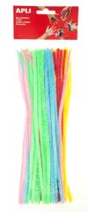 Modelovací drátky APLI neon barevný mix/50 ks