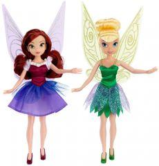 Disney Víly klasická bábika 2v1, 22cm