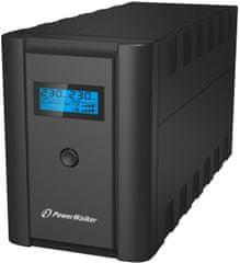 PowerWalker UPS brezprekinitveno napajanje LCD (VI 1200)