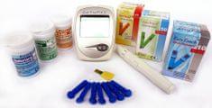 EasyTouch GCU vércukor koleszterin és húgysav mérő készülék + tesztcsík szett