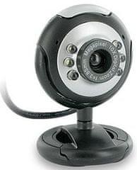 4World Internetová kamera 2.0MP USB 2.0 s LED podsvícením + mikrofon, univerzální