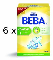Nestlé BEBA COMFORT 1 - 6 x 600g
