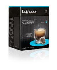 Caffesso Decaffeinato, 16 balení (160 kapslí)