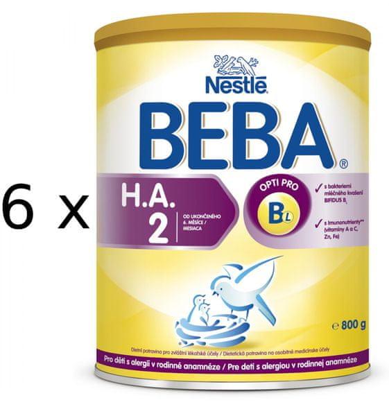 Nestlé BEBA HA 2 - 6x800g