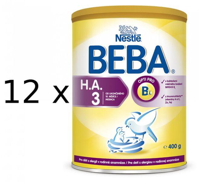 Nestlé BEBA HA 3 - 12x400g